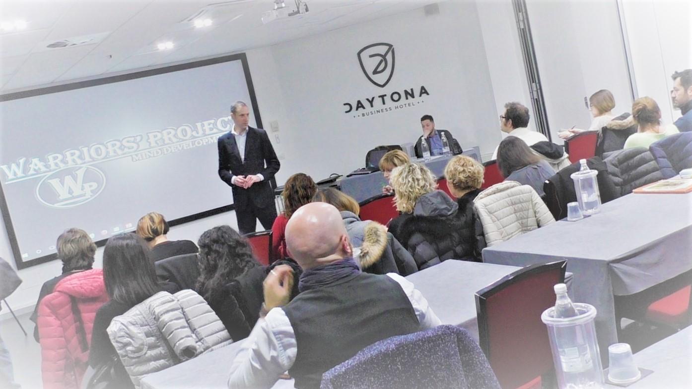 Commento di Antonella al corso tenuto Mercoledì 15 Febbraio 2107 a Parma.  La nostra associazione nasce per erogare corsi di formazione che aiutino le persone ad ottenere una crescita Personale, Professionale e Relazionale.…