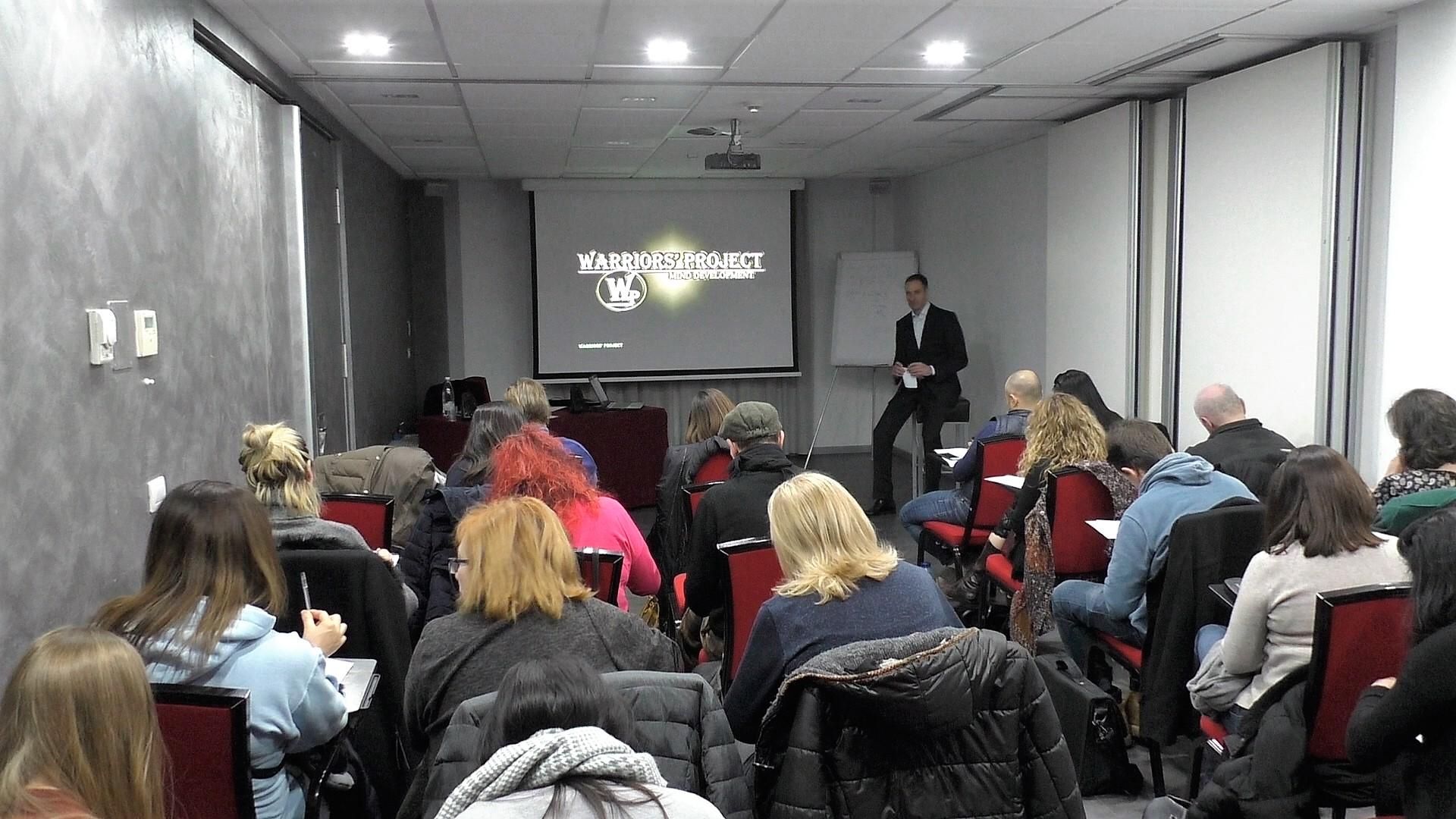 corso formazione strategie e obiettivi mentalità vincente crescita personale intelligenza emotiva parma reggio emilia vincenzo cento warriors project 16