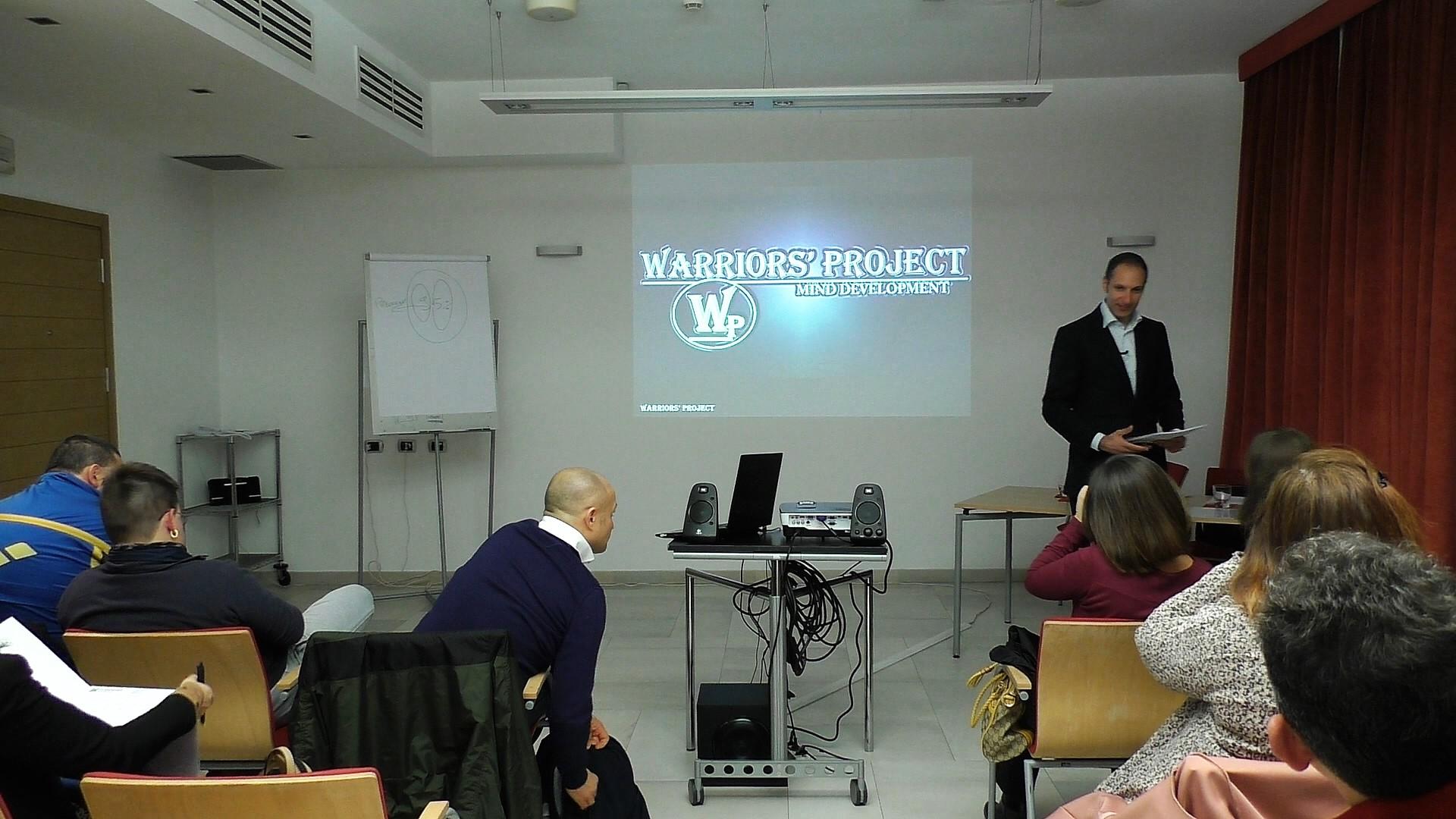 Corso di formazione reggio emilia novembre empatia comunicazione warriors project viincenzo cento parma bologna intelligenza emotiva
