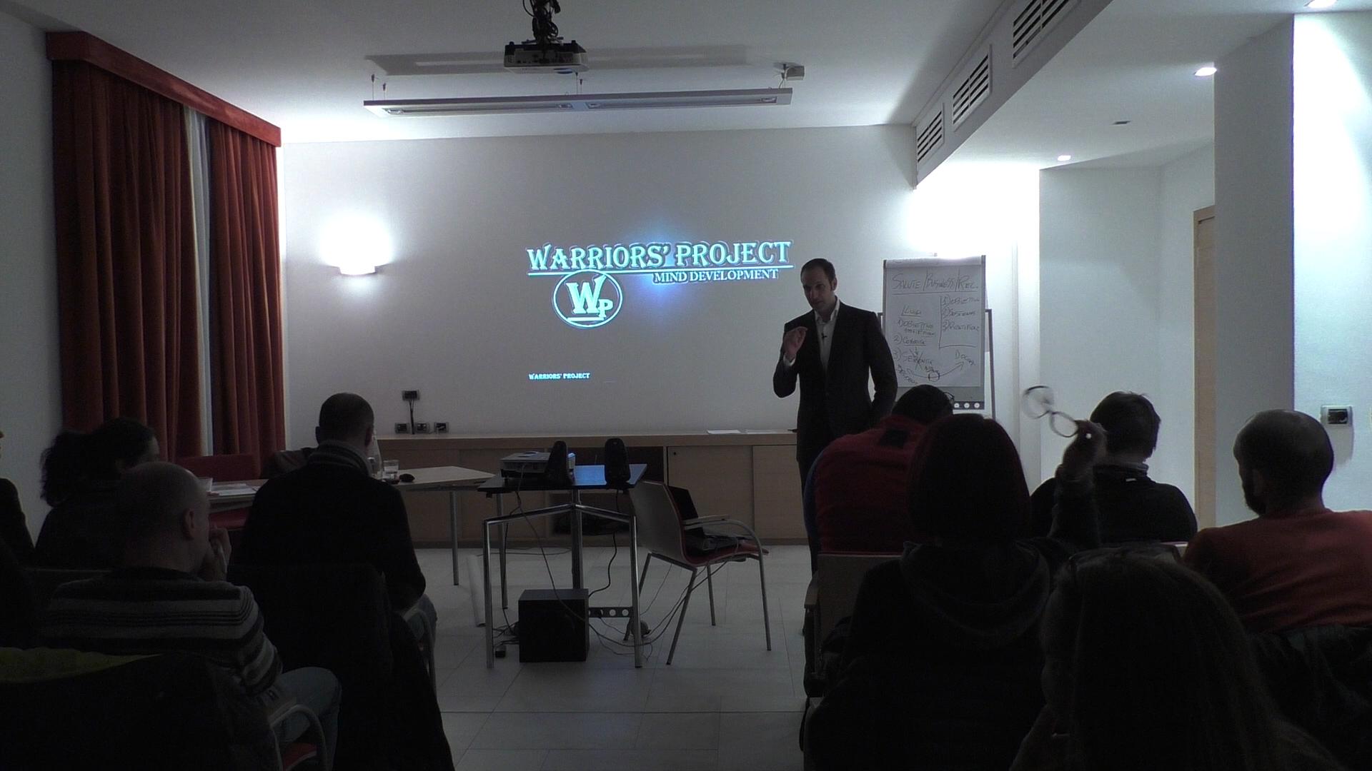 orso di formazione reggio emilia leadership raggiungere gli obiettivi warriors project vincenzo cento