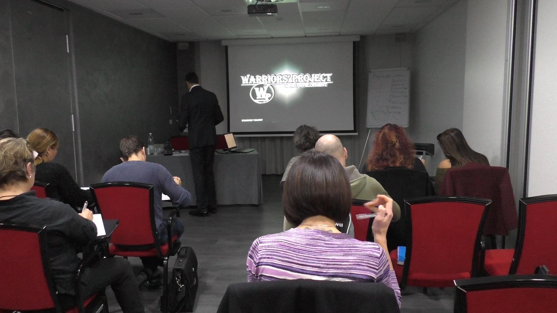 Corso di formazione Parma novembre empatia comunicazione warriors project viincenzo cento reggio emilia bologna intelligenza emotiva 2