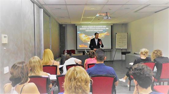 corso formazione comunicazione efficace raggiungere obiettivi leadership warriors project vincenzo cento parma